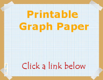 Square graph paper with 10mm
