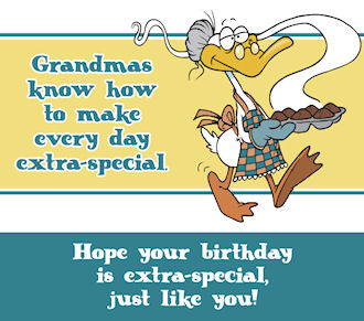 Print Out Birthday Cards For Grandma
