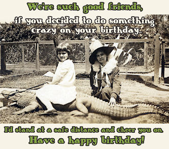 Free Friends Birthday Cards