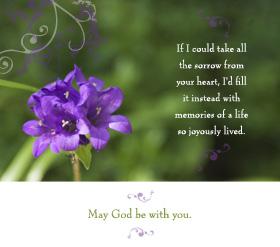 Condolence Card