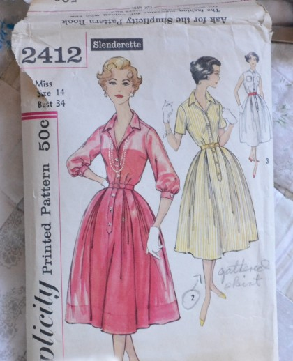 Sewing Project a Maternity Housedress Home at Winshaw