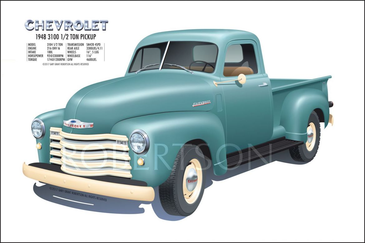 Chevy & GMC posters FS 47-55 - The Stovebolt Forums
