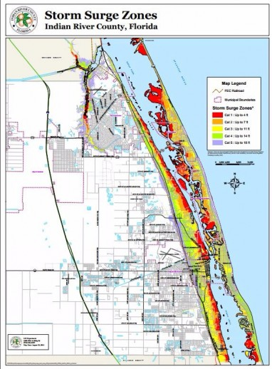 Indian River Florida Map.Storm Surge Maps Wpec