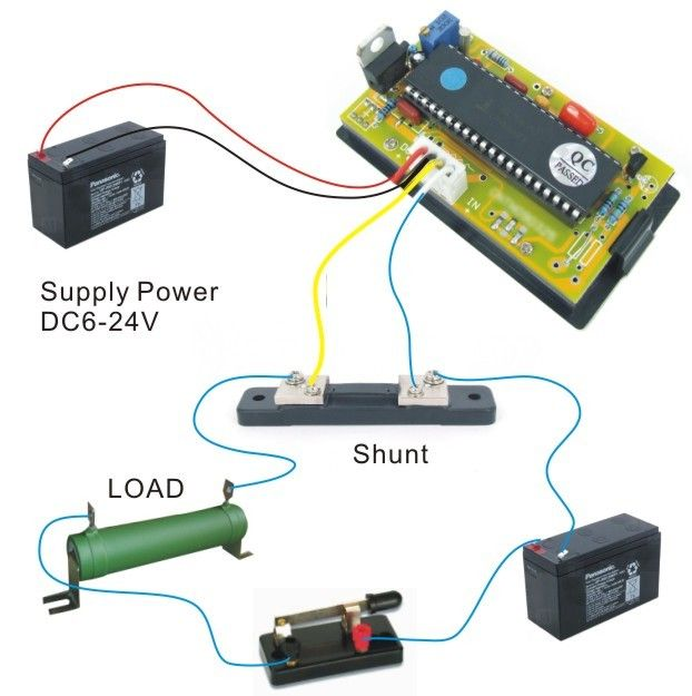 Surprising Wiring Adc Ammeter Basic Electronics Wiring Diagram Wiring 101 Taclepimsautoservicenl