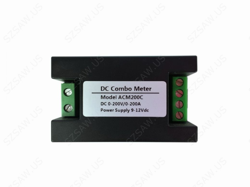 Battery Voltage Monitor : Dc v a volt amp meter bidirectional current