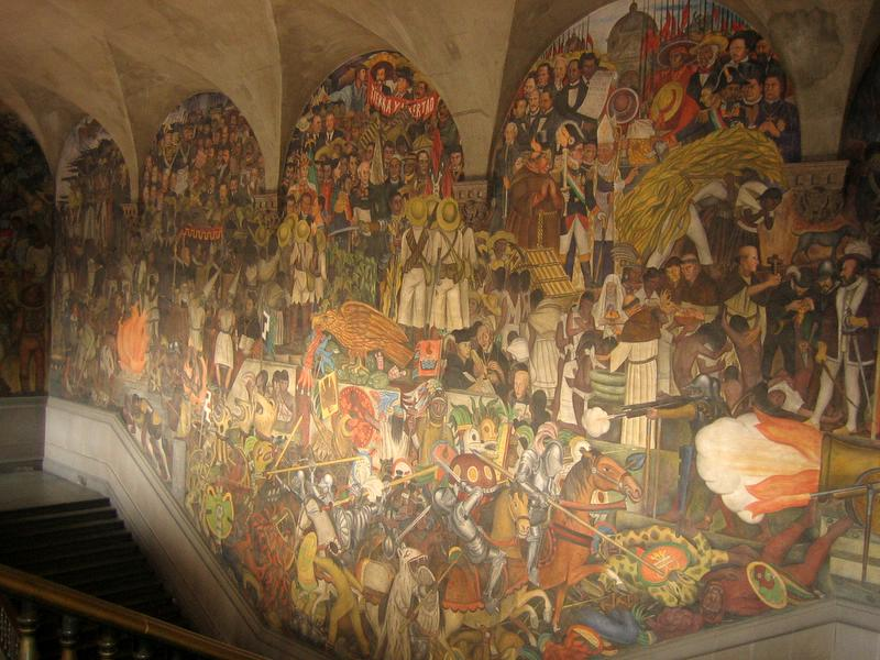 20 mexico city the capital august 29 for Diego rivera famous mural