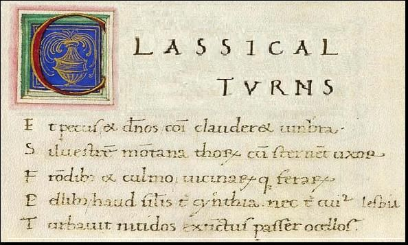 Latin translation from Classical Turns