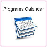 Programs Calendar