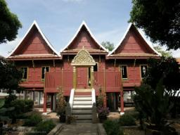 The Tripitaka Hall of Wat Rakang Kositar...