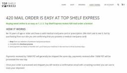 Buy 420 Online in Canada  Topshelfexpress ca makes it easy!