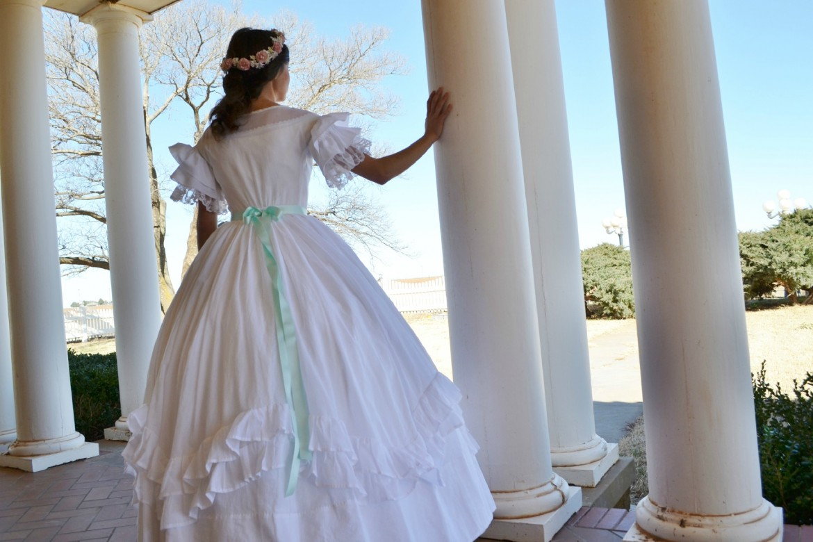 The Story Of A Seamstress My Wedding Dress